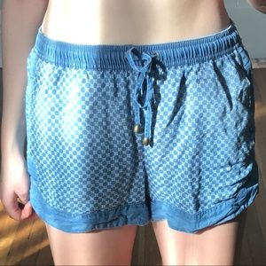 Urban Outfitters Chambray Shorts